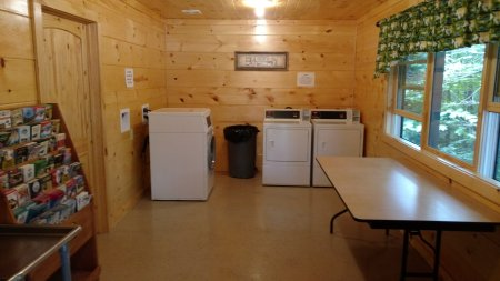 Washers & Dryers are on-site